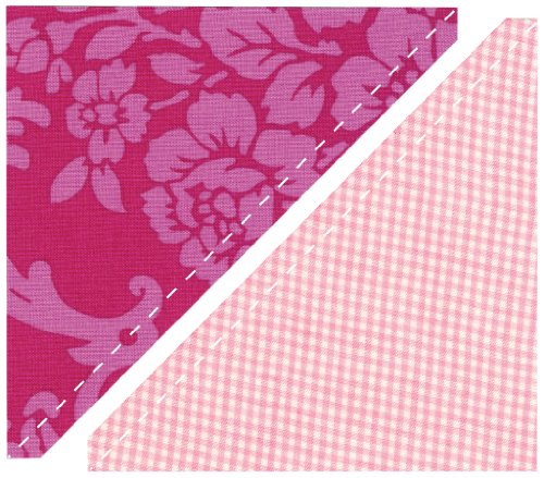 Sizzix Bigz L Die - Half-Square Triangles, 5