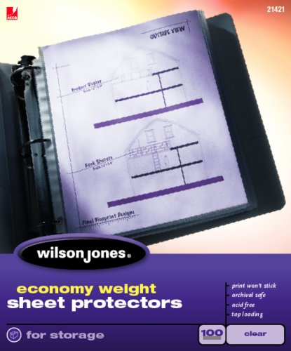 Wilson Jones Top Loading Protectors W21421
