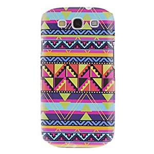 GONGXI Green Triangle Pattern Hard Case for Samsung Galaxy S3 I9300