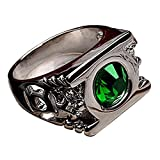 Cosparts® Green Lantern High Quality Alloy Ring Cosplay Costume (Size 9(Diameter 19mm))