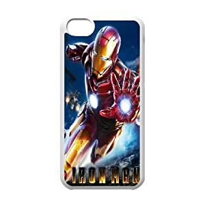 iPhone 5c Cell Phone Case White Explosive Iron Man OJ608455