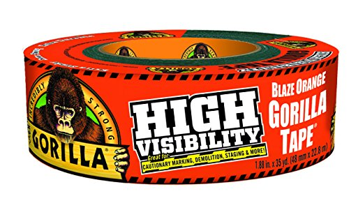 Gorilla High Visibility Tape, 35 yd.
