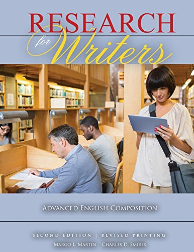 Research for Writers: Advanced English Composition