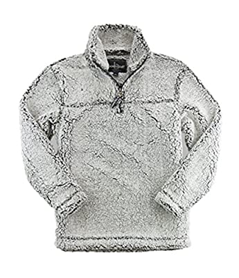 Boxercraft Adult Super Soft 1/4 Zip Sherpa Pullover