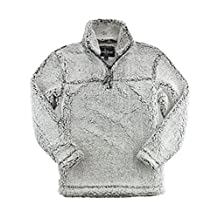 Boxercraft Adult Super Soft 1/4 Zip Sherpa Pullover