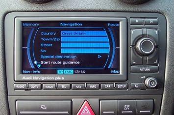 audi a3 s3 sportback rns e dvd navigation rnse amazon co uk car rh amazon co uk RNS-E Audi S4 Audi A6 RNS-E