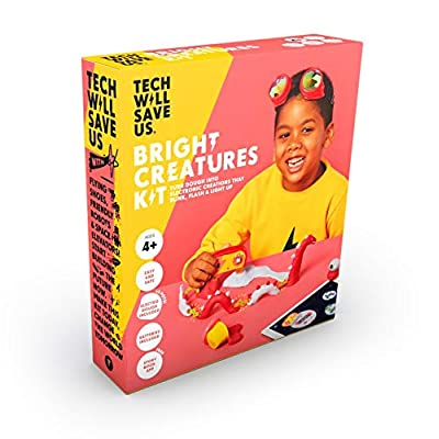Tech Will Save Us, Bright Creatures Kit | Educational STEM Toy, Ages 4 and Up: Toys & Games