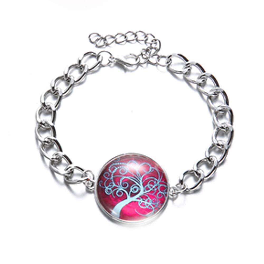1 jeu 3pcs Boutons de bijoux Set Time Mode Gem Cabochon Pendentif Collier Bangles Bracelet orange Bracelet mariage