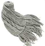 Handmade Luxurious PURE ALPACA Scarf in Australian Gray (CUSTOM MADE, JUST FOR YOU!)