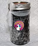 TIRED UNICORN FOOT SOAK CHARCOAL PEPPERMINT REVITALIZES TIRED FEET