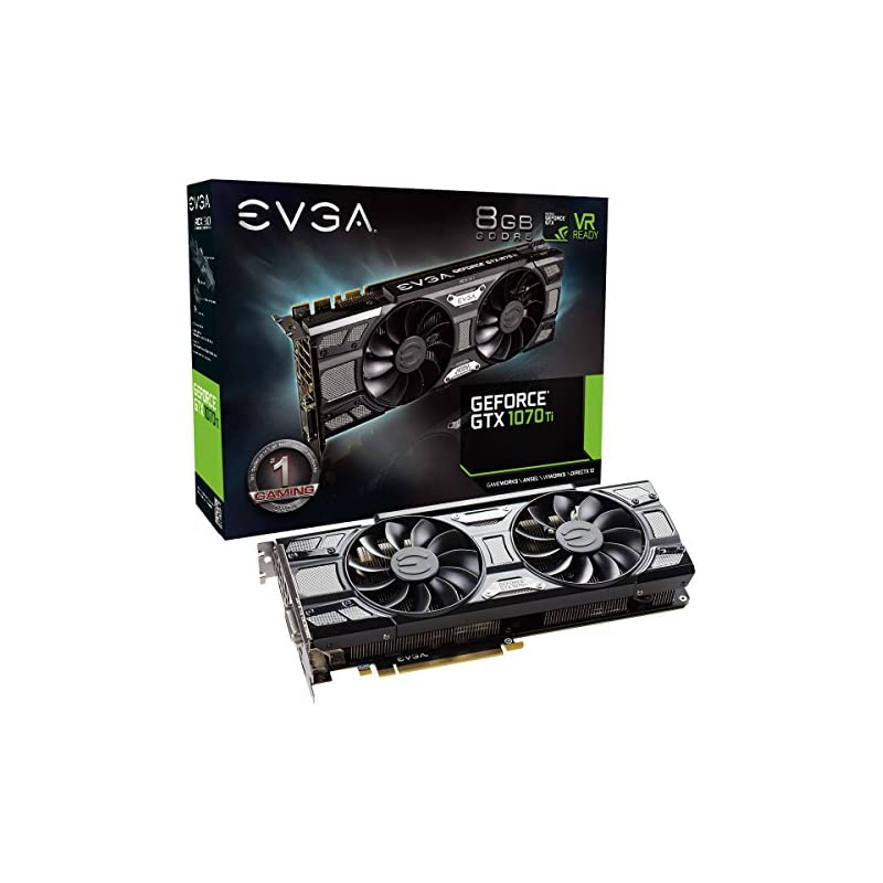 EVGA GeForce GTX 1070 Ti SC GAMING ACX 3