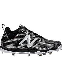 New Balance LowCut 406 Mens Metal Baseball Cleat 11.5 Black-Silver