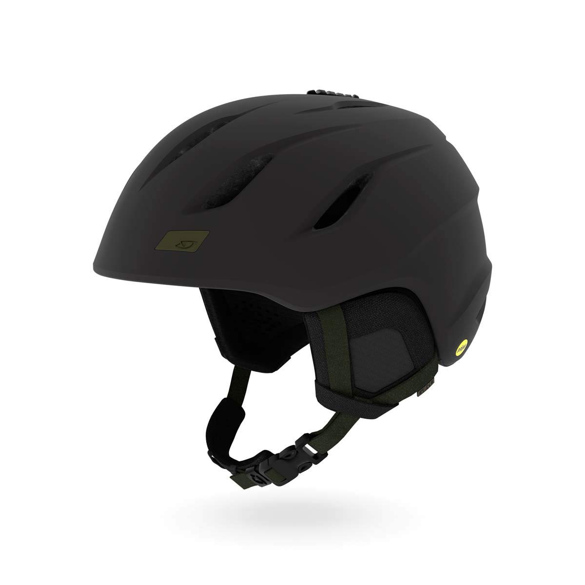 Giro Nine MIPS Snow Helmet Matte Black/Olive SM 52–55.5cm
