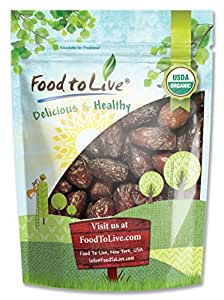 Food to Live Organic Medjool Dates (2 Pounds)