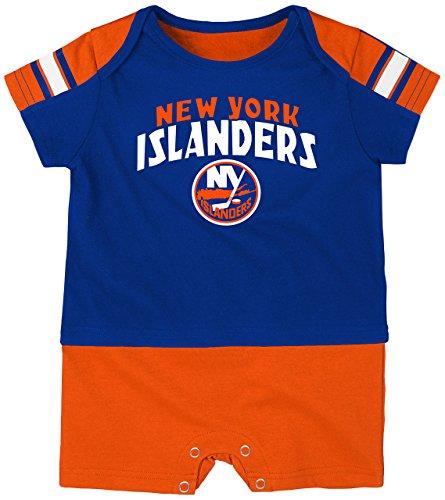 NHL New York Islanders Boys Newborn & Infant 'Little Brawler' Jersey Romper, Royal, 3-6 Months