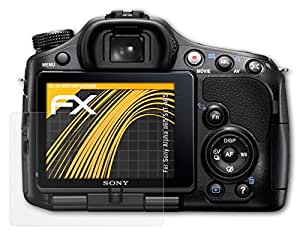 3 x atFoliX Película Protectora Sony Alpha a65 (SLT-A65) Lámina Protectora de Pantalla - FX-Antireflex anti-reflectante