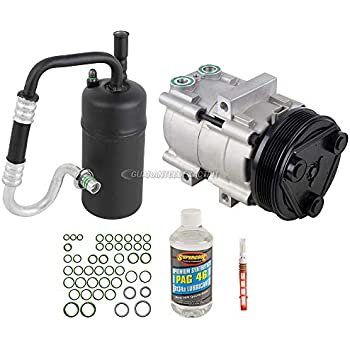 AC Compressor w/A/C Repair Kit For Ford Escape Mazda Tribute Mercury Mariner - BuyAutoParts 60-81228RK NEW