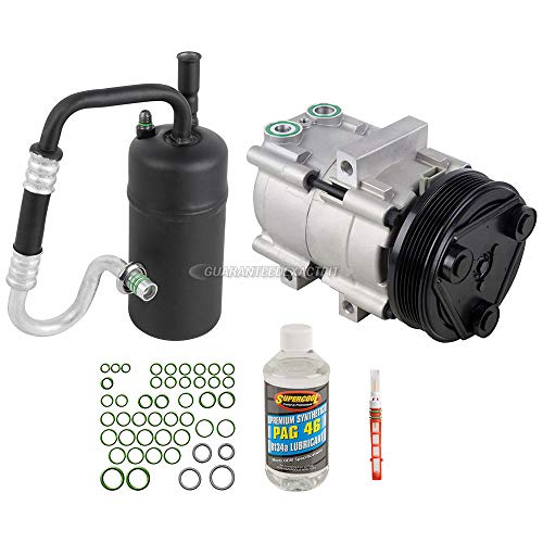 AC Compressor w/A/C Repair Kit For Ford Escape Mazda Tribute Mercury - BuyAutoParts 60-81228RK NEW ()