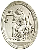 From London's Old Bailey, one of the world's most famous courthouses, the impartial Lady Justice still raises the scales of justice and wields the sword of reason. Our replica roundel, created exclusively for Design Toscano, captures the details of t...