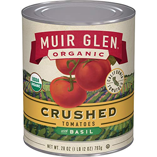 Muir Glen Crushed Tomatoes with Basil