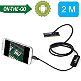 BlueFire 2M Android OTG Endoscope 7mm Mini Waterproof Endoscope Inspection Snake Camera for Samsung Galaxy S5 S6 Note 2 3 4 5