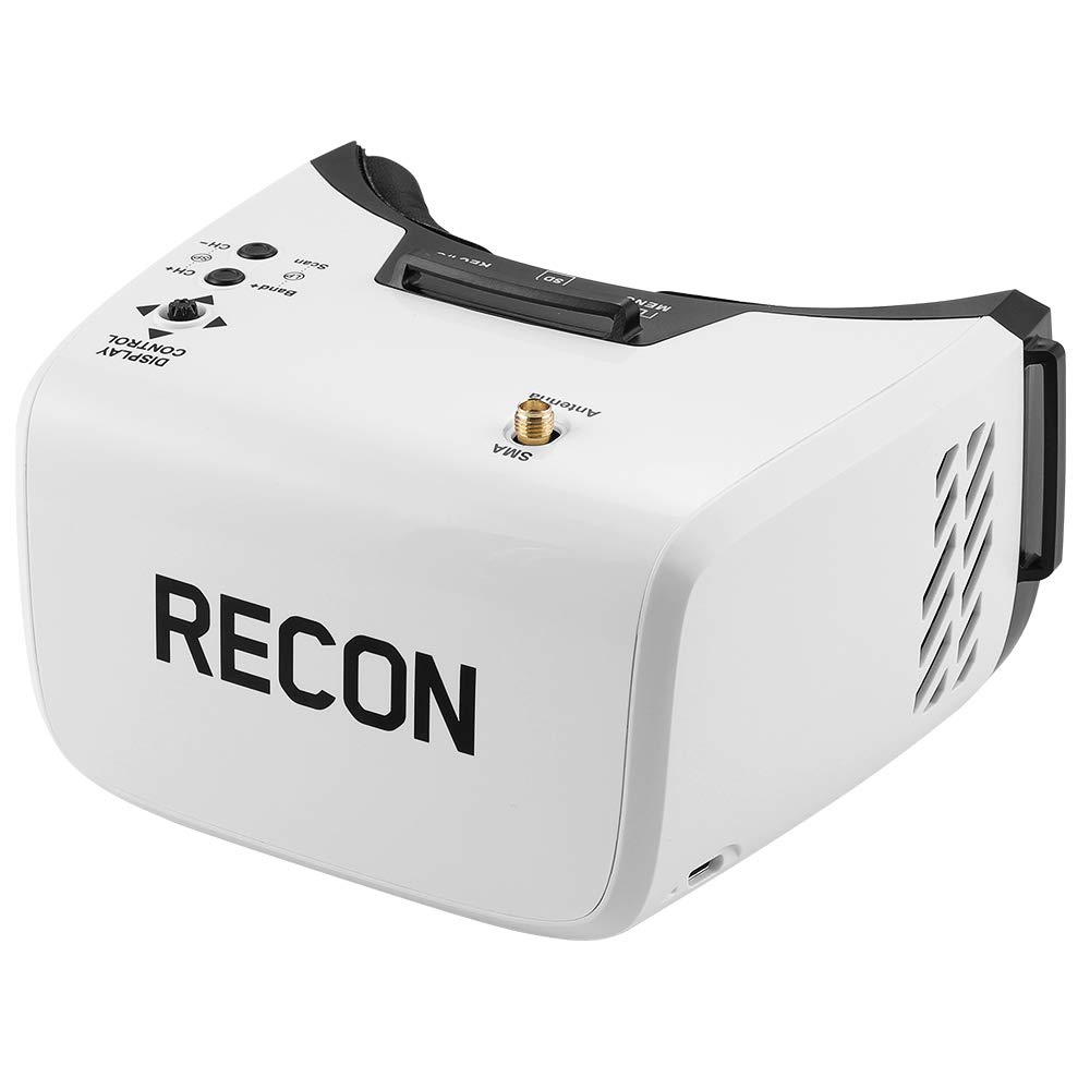 Fat Shark Recon V2 FPV Video Goggles with 5G8 Receiver 4.3'' LCD and Onboard DVR(FatShark FSV1131-02)
