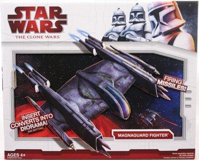 Star Wars Clone Wars Star Fighter Vehicle - Magna Guard Fighter