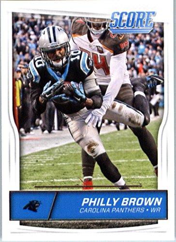 2016 Panini Score Football #47 Philly Brown Carolina Panthers