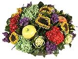 Forever Green Art Preserved Floral Fruit Bowl, 18-Inch