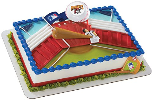 MLB Pittsburgh Pirates Cake Topper Cupcake Decoration Party Beisball Sports (Pirates Cup Pittsburgh)