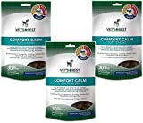 (3 Pack) Vet's Best Comfort Calm Calming Soft Chews Dog Supplements, Each a 30 Day Supply