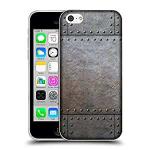 Super Galaxy Coque de Protection TPU Silicone Case pour // V00002779 remaches metálicos // Apple iPhone 5C