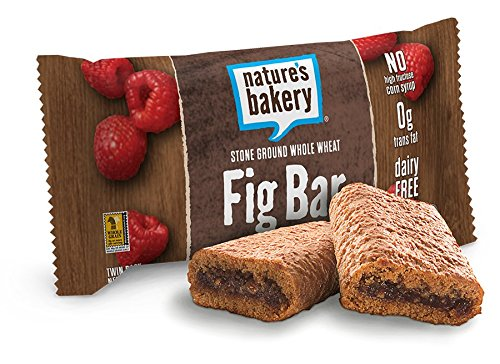 Nature's Bakery Whole Wheat Fig Bar, Vegan + Non-GMO, Raspberry (12 Count)