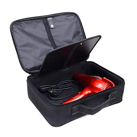 Peluquero Profesional Peluquería Organizador Caja Para Secadores De Pelo, Rizado/Enderezar Hierros, Cosméticos