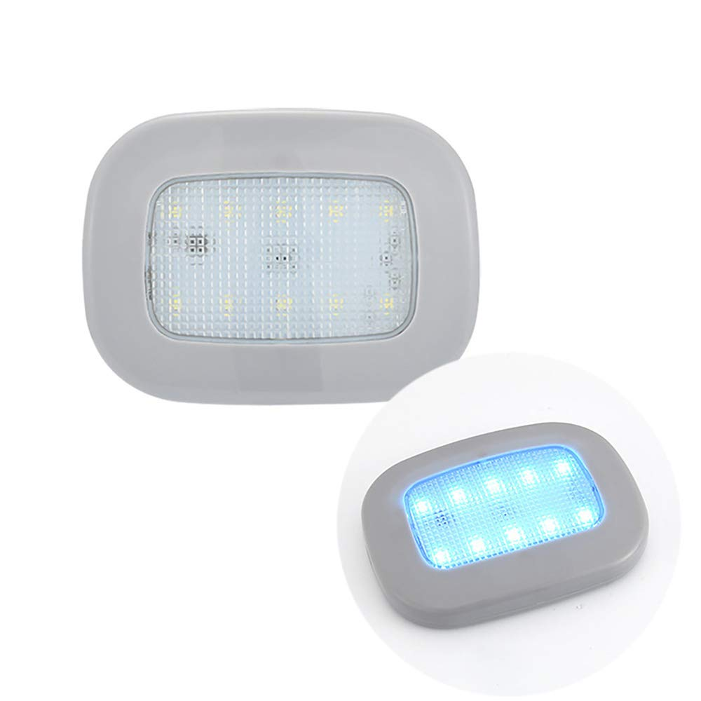 de luzazul USB recargable auto Luz tronco magnético domoportátil hielo adsorción coche lámpara lectura de interior LED WH9IED2