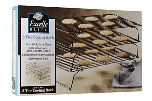 "Wilton 2105-459 Excelle Elite 3-Tier Cooling Rack, 15 7/8"" X 9 7/8"""