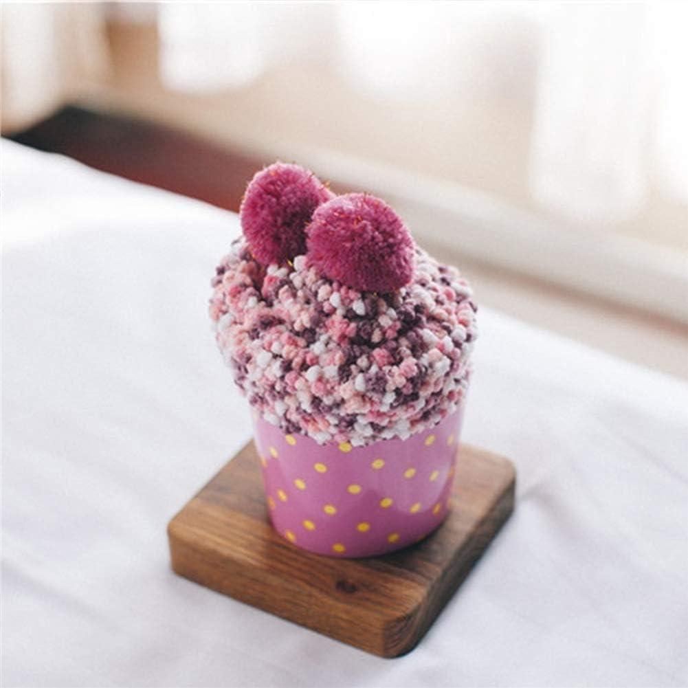 Cupcake Socken Damen M/ädchen Socken Kuschelsocken Weiche Warme Flauschige Wintersocken mit Geschenkbox f/ür Frauen Weihnachts Geschenk Haussocken