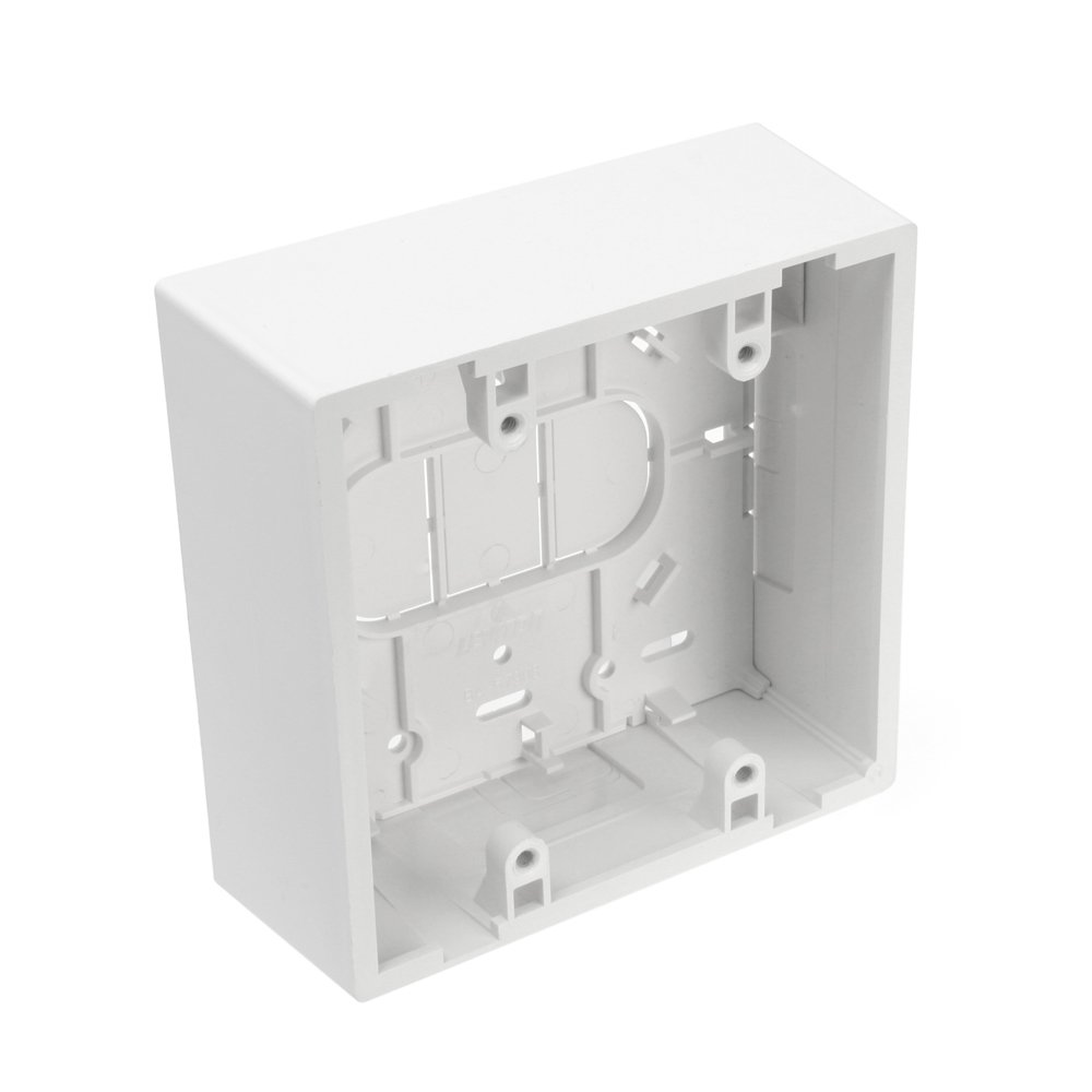Leviton 42777 2WA Surface Mount Backbox Dual Gang White