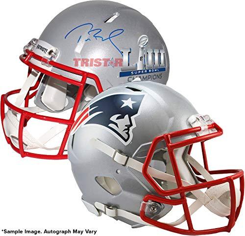 - Tom Brady Signed Autographed Patriots Super Bowl LIII Champions Replica Speed Helmet