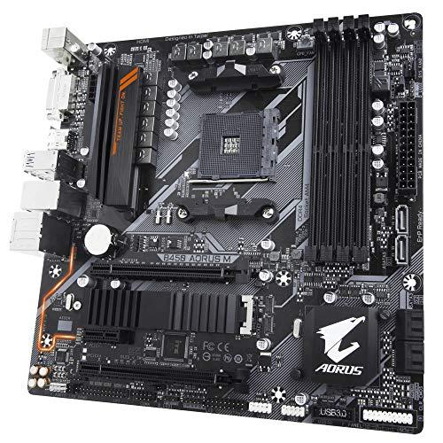 PLACA MAE (AMD) GIGABYTE B450 AORUS M DDR4 AM4