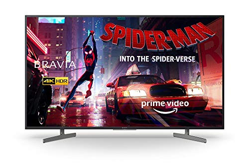 Sony BRAVIA KD55XG81 55-inch LED 4K HDR Ultra HD Smart Android TV with voice remote - Black (2019 model)