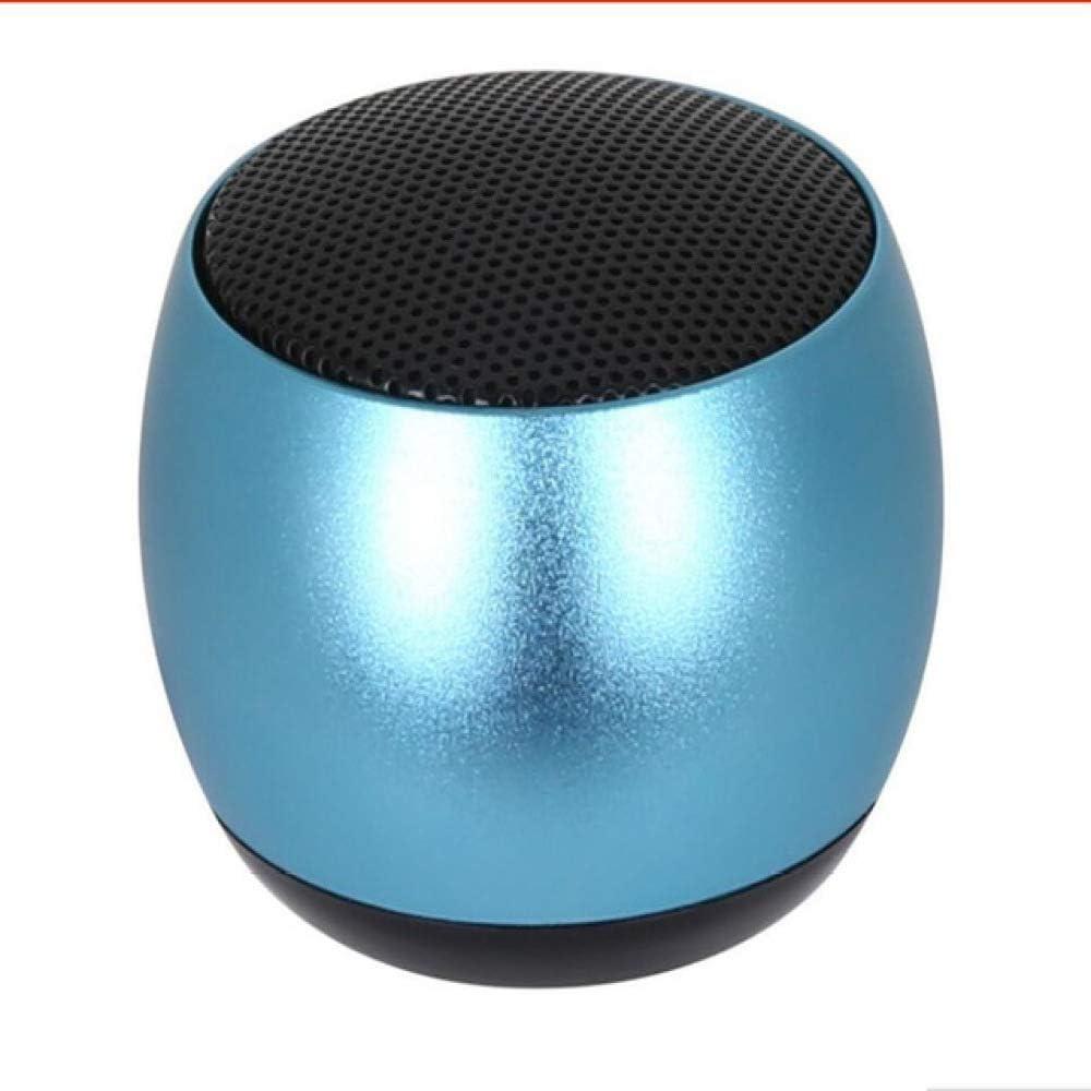 qiyanMini Altavoz Bluetooth Portátil TWS Metal inalámbrico Al Aire Libre 3D Estéreo Caja de Sonido con micrófono Manos Libres para teléfono PC Xiaomi-in Altavoces portátiles Azules: Amazon.es: Electrónica