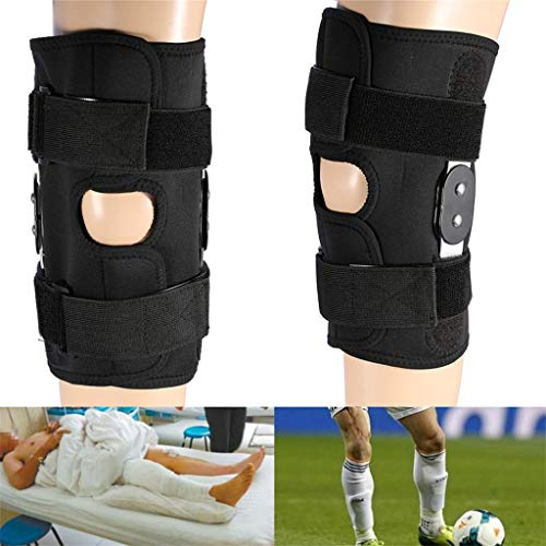 YunZyun Sports Knee Pads Magic Knee Support Pressure Leg & Knee Joint Assist Support Brace,Educe Excessive Joint Stretching, Prevent Sports Injuries and Prevent Knee Varus or Eversion (A)