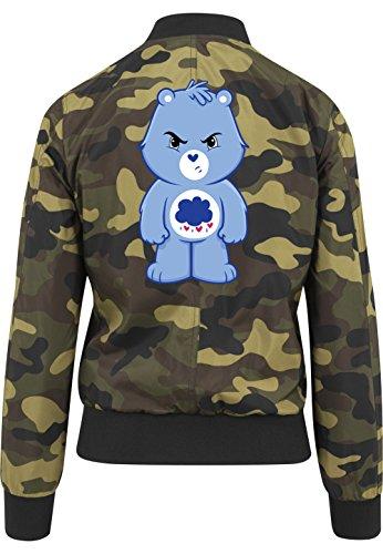Angry Bear Bomberjacke Girls Camouflage Certified Freak