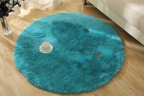 45 Mm Rake - 25&45mm Plush Thicken Soft Shaggy Area Round Rug Living Room Carpet Bedroom Floor Mat Circle Footcloth Carpet