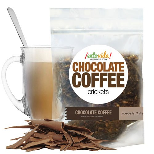 Edible Insects | Chocolate Coffee Crickets (Edible Insects Chocolate)