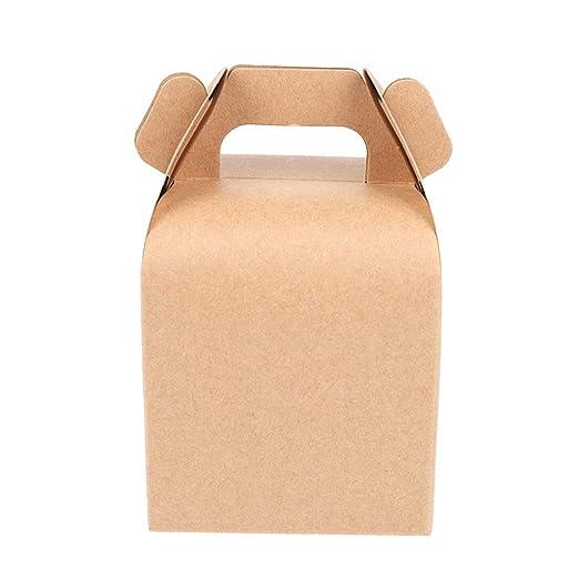 LAAT. Bolsa de Papel de Navidad Caja de gominolas Chocolate ...