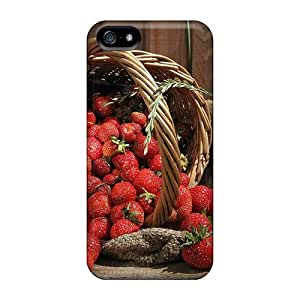New Arrival Case Specially Design For Iphone 5/5s (strawberry Fruits)