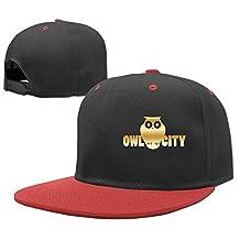 Boy's Owl City Gold Logo Contrast Baseball Cap