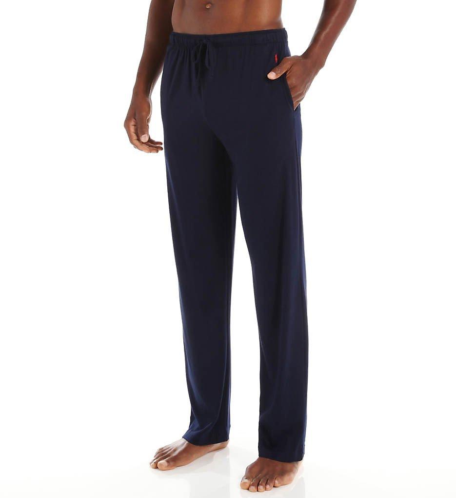 Polo Ralph Lauren Supreme Comfort Knit Pajama Pants, L, Cruise Navy